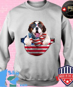 St bernard waist pack flag american flag independence day s Sweater