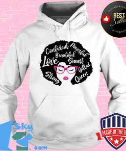 Confident powerful beautiful love smart strong gifted queen s Hoodie