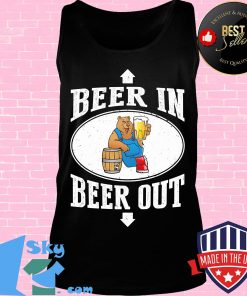 OFFICIAL BEER IN BEER OUT SHIRT Tank top
