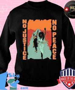 Black woman no justice no peace s Sweater