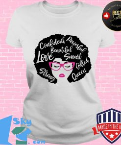 Confident powerful beautiful love smart strong gifted queen s V-neck