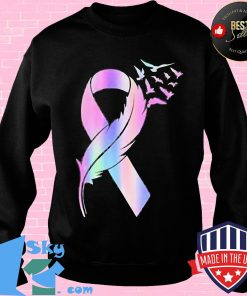 Black awareness feathers classic s Sweater