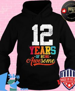 12 years of being awesome vintage shirt