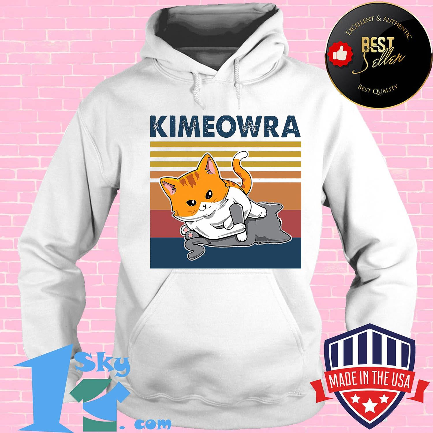 7c217ee3 cat kimeowra vintage retro shirt hoodie - Shop trending - We offer all trend shirts - 1SkyTee
