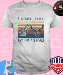 859bc96a a woman her paw dog and her air force vintage retro shirt unisex 247x296 - Shop trending - We offer all trend shirts - 1SkyTee