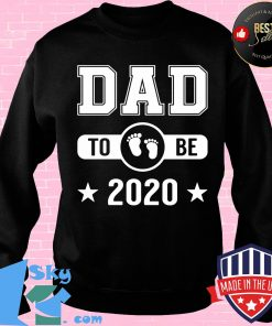 Dad To Be 2020 Promoted To Daddy Husband Baby Shirt Sweater