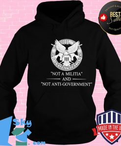 111% United States Of Amarica Not A Militia And Not Anti-Government Shirt