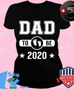 Dad To Be 2020 Promoted To Daddy Husband Baby Shirt V-neck