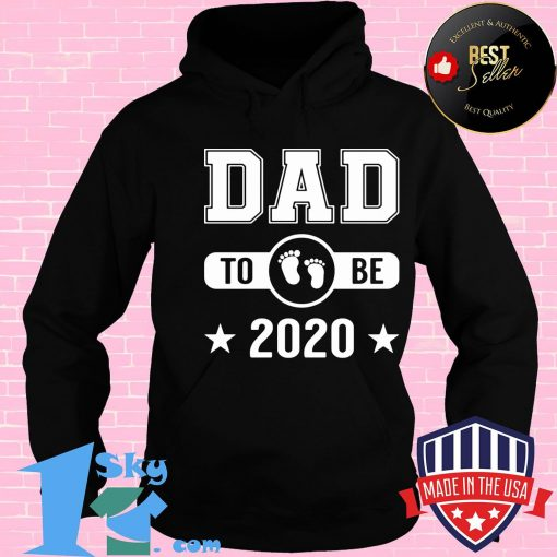 Dad To Be 2020 Promoted To Daddy Husband Baby Shirt
