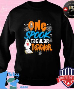 One Spooktacular Teacher Halloween Ghost School Shirt Sweater