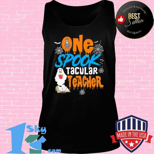 One Spooktacular Teacher Halloween Ghost School Shirt