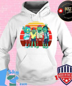 Zombies Retro Vintage Zombie Graphic Gift Boys Girls Kids T-Shirt Hoodie