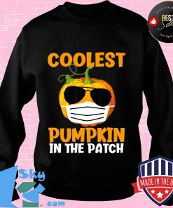 Coolest Pumpkin in the Patch Funny Quarantine Halloween Gift T-Shirt Sweater