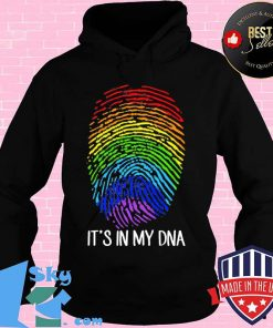 It's In My DNA LGBT Gay And Lesbian Rainbow Shirt