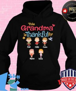 This Grandma Is Thankful For Shirt