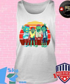 Zombies Retro Vintage Zombie Graphic Gift Boys Girls Kids T-Shirt Tank top