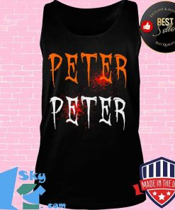 Funny Blood Eater Spooky Peter Peter Halloween Costumes T-Shirt Tank top