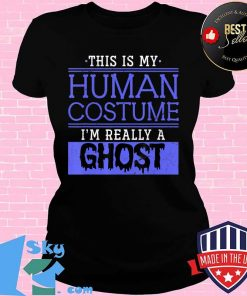 Funny Ghoul Halloween Costume Party Gift Halloween T-Shirt V-neck