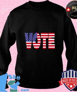 Vote - American Flag Edition T-Shirt Sweater
