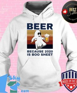 Bear because 2020 is boo sheet vintage retro s Hoodie