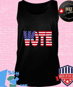 Vote - American Flag Edition T-Shirt Tank top