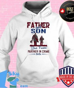 Fishing father and son best freakin partner in crime ever shirt