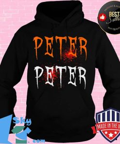 Funny Blood Eater Spooky Peter Peter Halloween Costumes T-Shirt