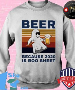 Bear because 2020 is boo sheet vintage retro s Sweater