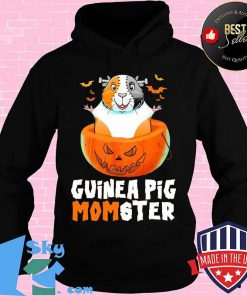 Guinea Pig Momster In Pumpkin Halloween Shirt