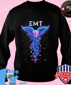 EMT With Angel Wings Shirt
