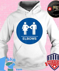 Restroom Elbow Bump Pun Women and Men's Gag Gift T-Shirt