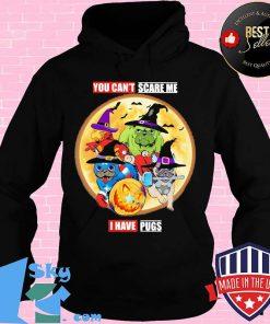 Official You Can't Scare Me I Have Pugs Avengers Halloween Shirt