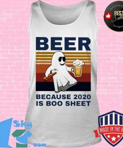 Bear because 2020 is boo sheet vintage retro s Tank top