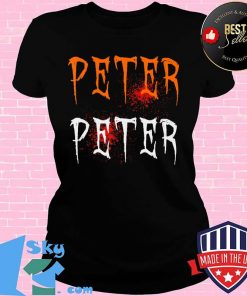 Funny Blood Eater Spooky Peter Peter Halloween Costumes T-Shirt V-neck