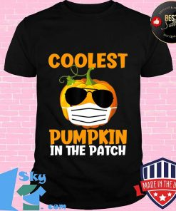 Coolest Pumpkin in the Patch Funny Quarantine Halloween Gift T-Shirt Unisex