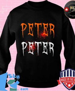 Funny Blood Eater Spooky Peter Peter Halloween Costumes T-Shirt Sweater