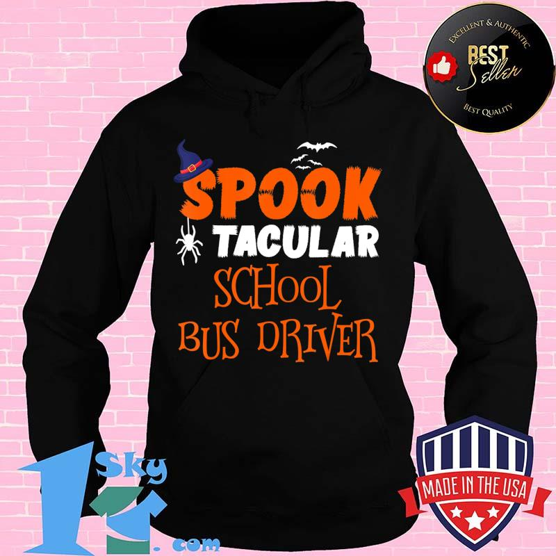 087d26a0 spooktacular school bus driver funny halloween costume gift t shirt hoodie - Shop trending - We offer all trend shirts - 1SkyTee
