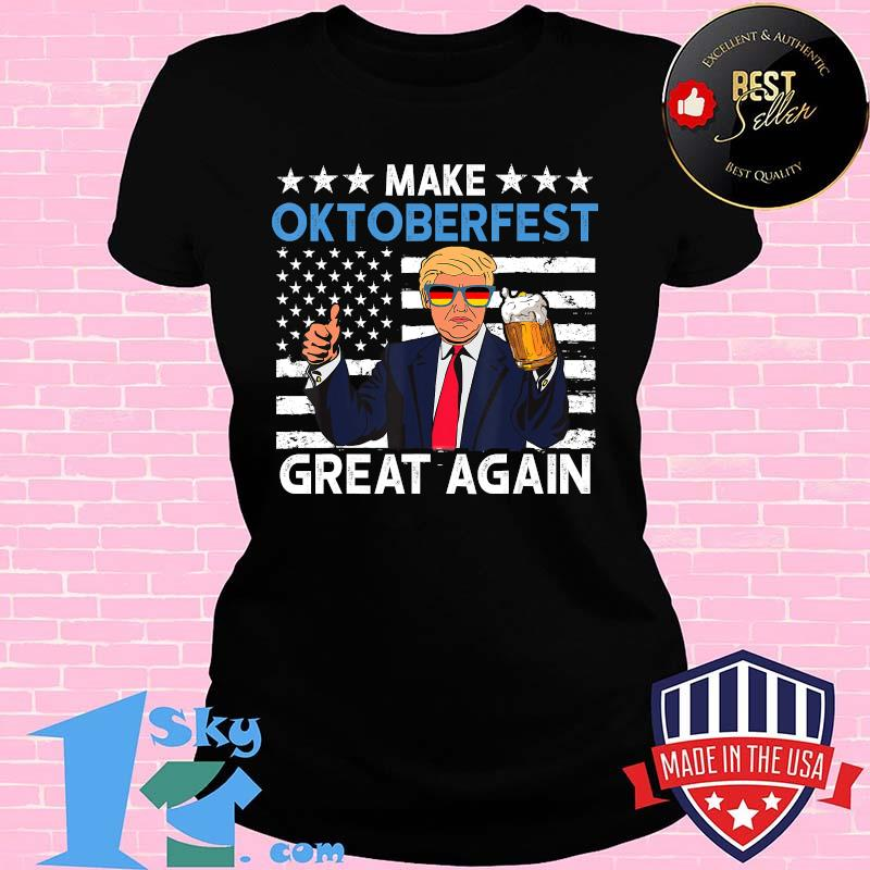 Make Oktoberfest Great Again Shirt Trump Prost Beer Mug Men T-Shirt