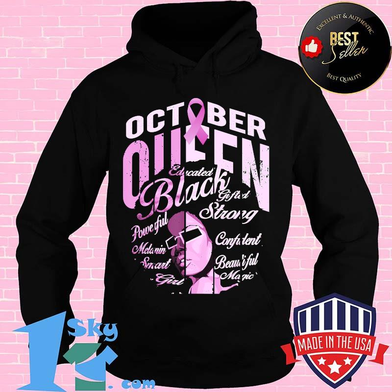 63600045 black woman in october we wear pink breast cancer awareness t shirt hoodie - Shop trending - We offer all trend shirts - 1SkyTee