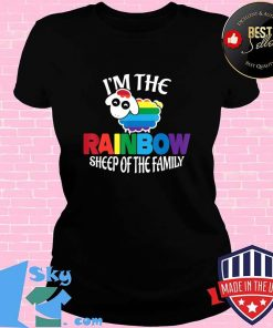 I'm the Rainbow Sheep of the Family Gay Pride T-Shirt V-neck