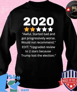 2020 Review Two Stars Awful Bad Rating Would Not Recommend Shirt Sweater