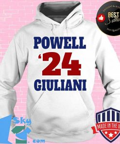 Powell giuliani 2024 sporty and patriotic graphic s Hoodie