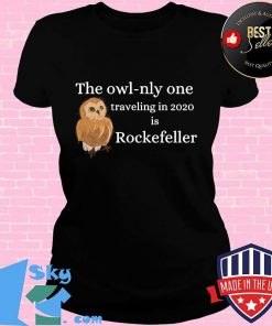 Rockefeller the owl new york 2020 s V-neck