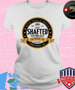 United States Of America Since 1776 Election 2020 Shafted Crafted Logo Shirt V-neck