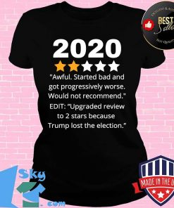 2020 Review Two Stars Awful Bad Rating Would Not Recommend Shirt V-neck