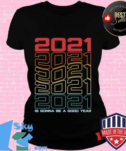 Retro is gonna be a good year happy new year 2021 eve party s V-neck
