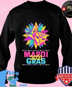 Mardi gras 2021 mask costume parade watcher s Sweater
