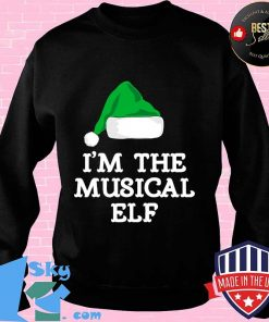 I'm the musical elf funny family christmas s Sweater