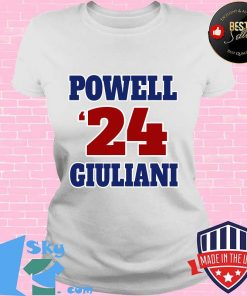 Powell giuliani 2024 sporty and patriotic graphic s V-neck