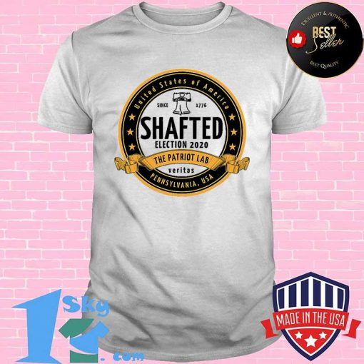 United States Of America Since 1776 Election 2020 Shafted Crafted Logo Shirt
